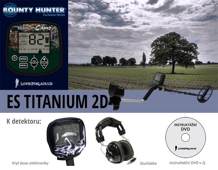 Bounty Hunter ES Titanium 2D